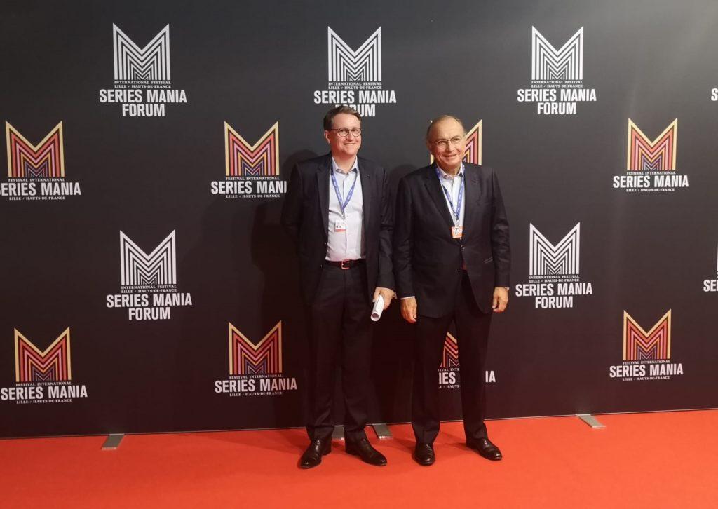 Series Mania Institute et Entreprises & Cités signent leur convention de mécénat.
